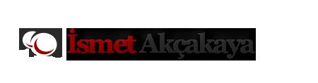 İsmet AKÇAKAYA - Kişisel Web Sayfası